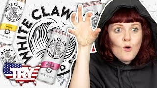 Irish People Try White Claw For The First Time... in AMERICA!