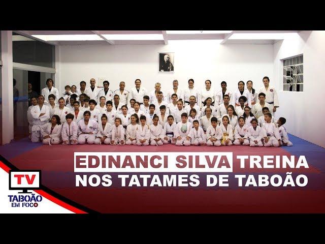 Judoca Edinanci Silva treina em Taboão da Serra