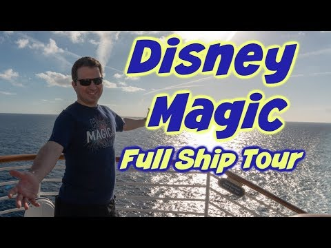 Full Ship Tour Of The Disney Magic