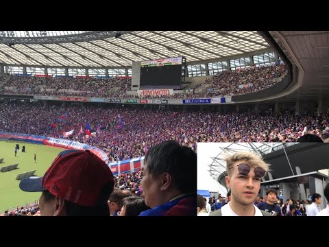 English Fan Watches Japanese Football Match 🇯🇵 (J1 League) FC Tokyo vs Jubilo Iwata 12.5.2019