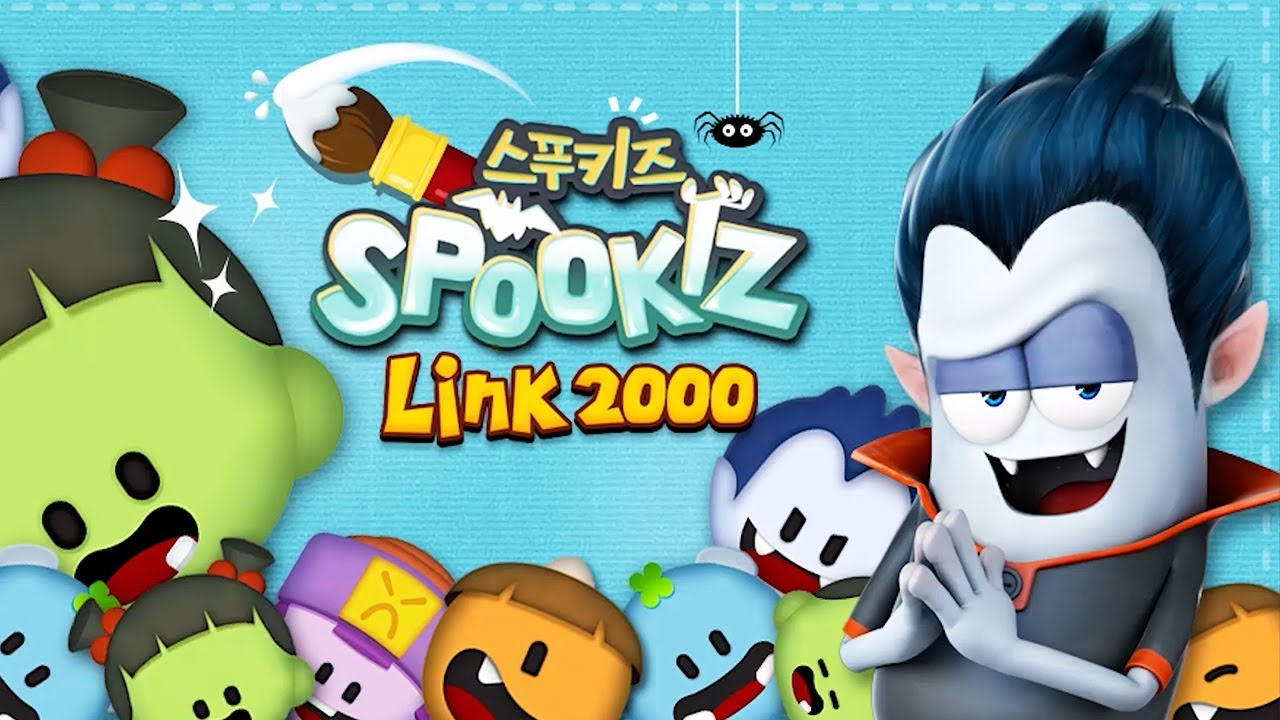 SPOOKIZ LINK 2000 | 3 Match Linking Mobile Puzzle Game | Official Trailer |스푸키즈 | Best Apps for Kids