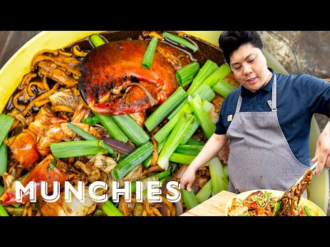 How To Make Momofuku's King Crab Noodles