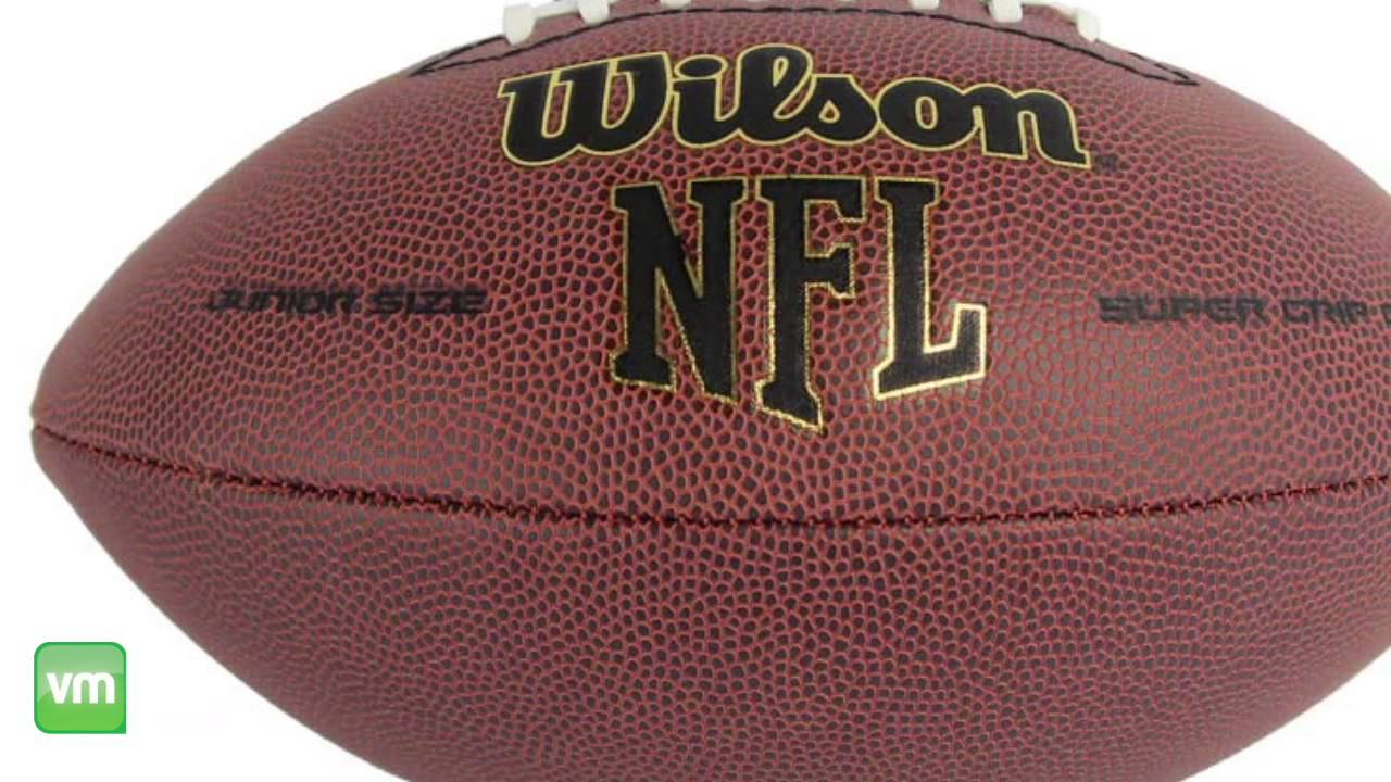 Wilson NFL Junior Football  WTF1793  YouTube