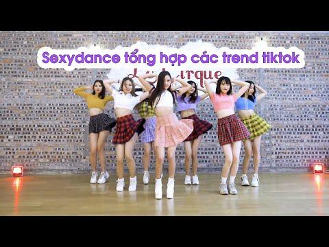 RED QUEENS team - TREND NHẢY TIKTOK HOT VIỆT NAM (P1) - Học nhảy Le Cirque | Dancing with Minhx
