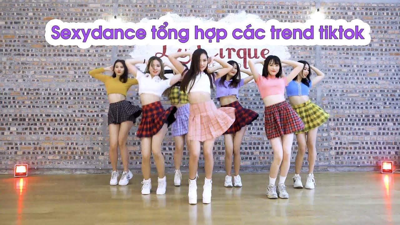 Download RED QUEENS team - TREND NHẢY TIKTOK HOT VIỆT NAM (P1) - Học nhảy Le Cirque | Dancing with Minhx