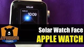 Apple Watch - Customize Solar Watch Face
