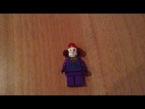 Как сделать минифигурку Лего злой клоун
