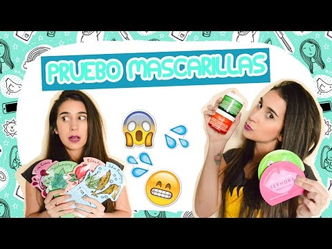 PRUEBO MASCARILLAS FACIALES - Fashion Diaries