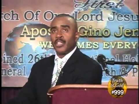 Pastor Gino Jennings Truth of God Telecast 998 999 Philadelphia, PA