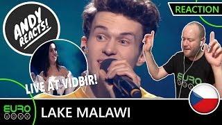 CZECH REPUBLIC EUROVISION 2019 REACTION: Lake Malawi - 'Friend Of A Friend' | Live @ Vidbir 2019!