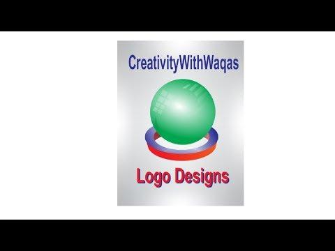Best logo design idea and concept 2 by creativityWithWaqas / CorelDraw X7