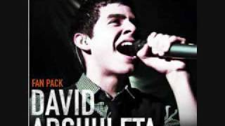 David Archuleta- Zero Gravity - iTunes Studio with Lyrics
