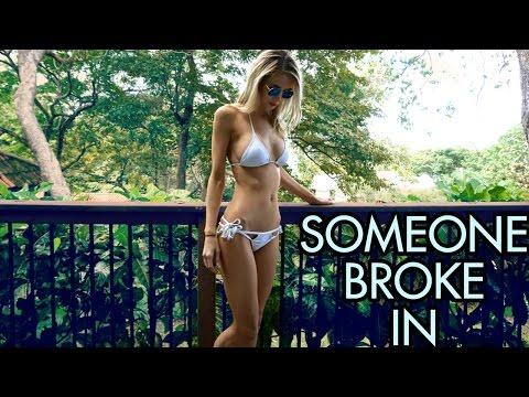 SOMEONE BROKE IN | Costa Rica Travel Vlog | Part 1