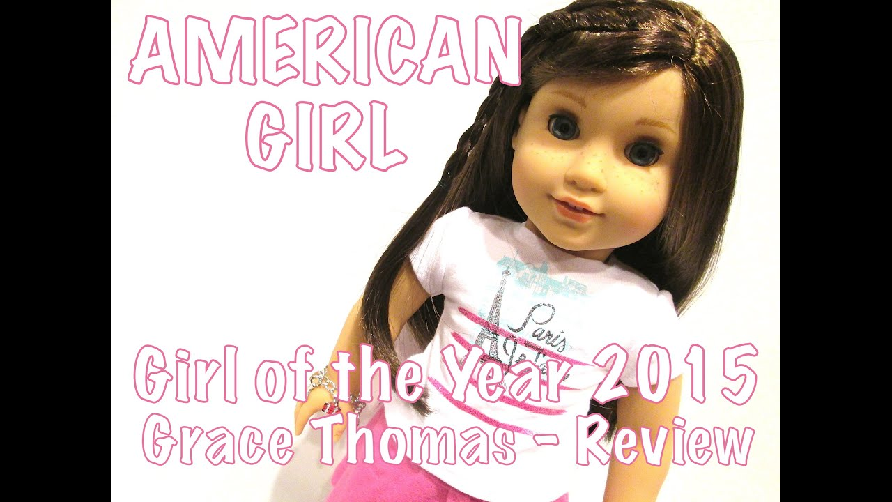 american girl girl of the year 2015 grace thomas doll review