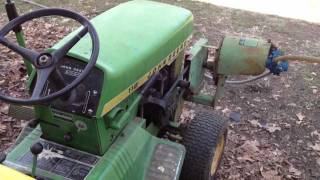 1968 John Deere 112 with 541a PTO