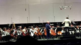 Vin Scully and the Los Angeles Philharmonic perform Lincoln Portrait at the Hollywood Bowl 7/14/17