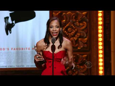Nikki M. James wins Tony Award Best Featured Actress in a Musical