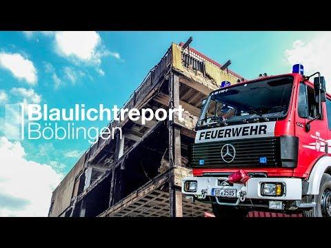 Möbelhaus-Brand Böblingen [Interview mit dem Pressesprecher der Feuerwehr Böblingen]