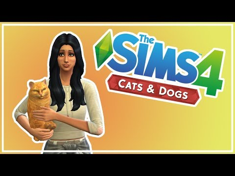 Sims 4: Cat and Dogs - Pet Challenge - 02 - Stray Puppeh