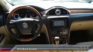 2012 Buick Enclave Lubbock TX 3352