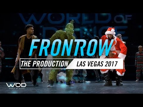 The Production   FrontRow   World of Dance Las Vegas 2017   #WODLV17