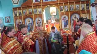Поздравления от Александра Пресмана верующим в селе Анастасиевка