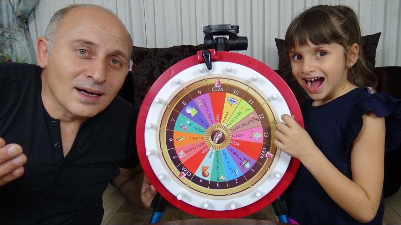 Çarkıfelek Cezalı Bilgi Yarışması Funny Kids Video