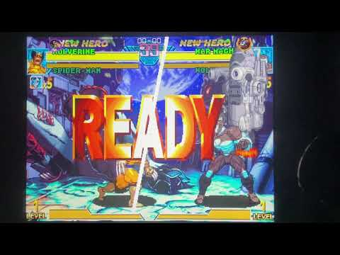 ARCADE1up - MvC1: IronTurtle1 Vs. Morphus56K - February 2, 2021 at 7:19 PM from Daniel Rivera