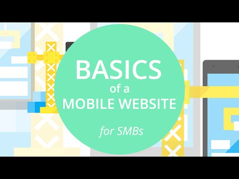 [Basics of a mobile website for SMBs]  1. Learn the tools: PageSpeed Insights, Mobile-Friendly Te...