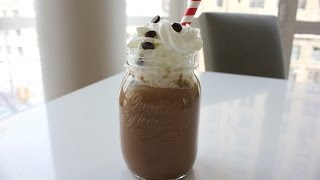 Healthy Iced Coffee Protein Shake Recipe - Indulgent Fuel
