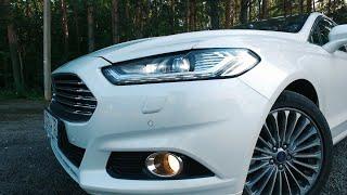 Ford Mondeo 2016 ТЕСТ ДРАЙВ 240ЛС 0-200 vs. Skoda