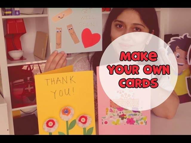Make Cards for Different Occasions | Make it Yourself (s02e05)