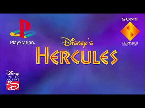 Opening to Disney's Action Game featuring Hercules UK PS1 Game (1997)