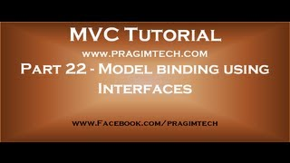 Part 22  Including and excluding properties from model binding using interfaces
