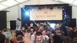 Royal Ascot Band. Silver Ring