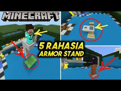 5 RAHASIA ARMOR STAND MINECRAFT 1.2