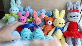 В'язані іграшки - підготовка до ярмарку