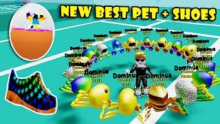I GOT ALL RAREST DOMINUS PETS & BUYING THE BEST SNEAKER In SPEED SIMULATOR X! [Roblox]