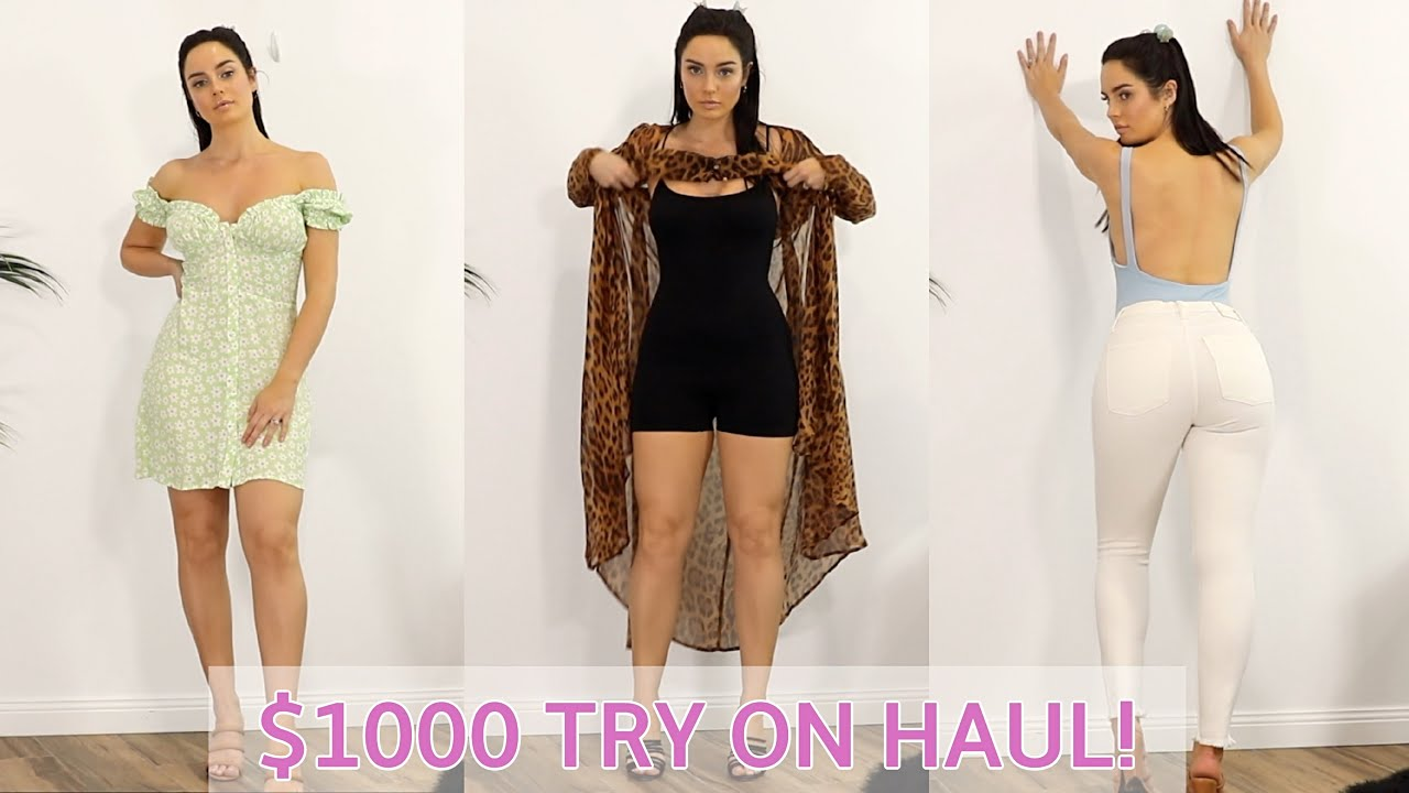 Huge Try On Clothing Haul! 10 Summer Outfits  Chloe Morello 4