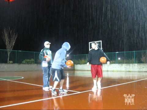 The 4 in the Morning Downpour Shot