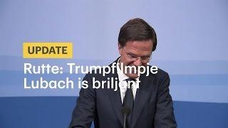 Premier bedankt Lubach voor Trumpfilmpje - RTL NIEUWS