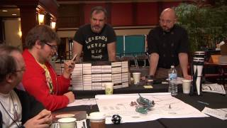 Authors Playing D&D at ConFusion 2014