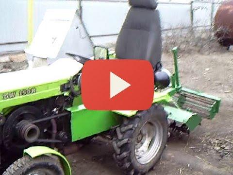 модернизации китайского  мини трактора