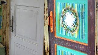 Реставрация старой деревянной двери: идеи обновления на фото и видео