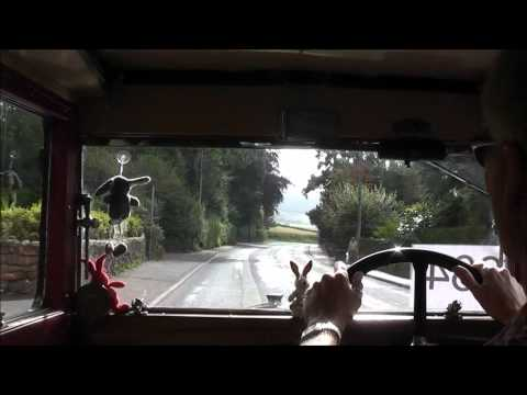 DRIVING TO THE WSR 2012 TRANSPORT RALLY IN A 1930 SINGER JUNIOR