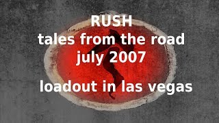 Rush - Tales from the Road - MGM Grand - Las Vegas