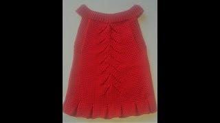 Kız Çocukları İçin Ajurlu,Pileli Elbise Yapımı (Baştan Sona Anlatımlı)