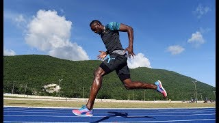 One last race in Jamaica for Usain Bolt