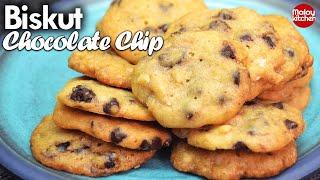 Biskut Chocolate Chip |  Resepi Terbaik Sukatan Ca