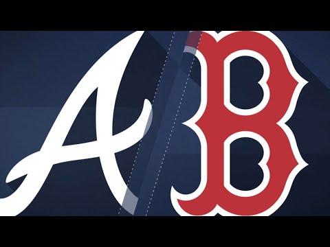 Moreland, Benintendi power Sox over Braves: 5/26/18